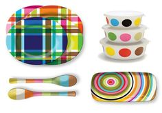 Set a Kid Friendly Tabletop with The Most Colorful Dishes Ever! Rainbow Kitchen, Kids Plates, Diy Fashion Accessories, Kitchen Dinning, How To Eat Less, Pottery Painting, Homemade Gifts, House Colors, Kids Meals