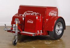 Coca cola trailer