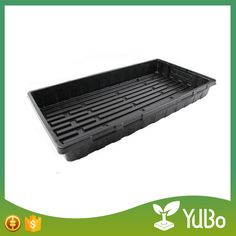 Hot sale plastic flat trays for agricultural hydroponic growing systems