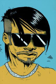 Self portrait #illustration #popart style