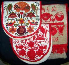 Rábaközi hímzett tarsoly  (pénztárca) - Hungary