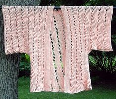 from Knit Kimonos - one of many lovely patterns (though I don't think I'll do this in pink)