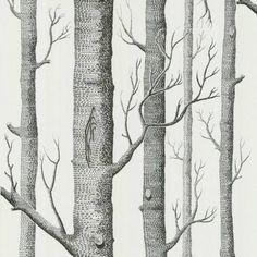 Het populaire Woods behang van Cole & Son is een echt paradepaartje. De zwart-wit uitvoering is een topper die in elk interieur een mooi plekje kan krijgen. Bekijk ook eens onze andere varianten woods behang.