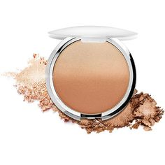It CosmeticsCC + Radiance Ombre Bronzer | Apply to bare skin, or on top of makeup for instant warmth, radiance and color correction. Can be work on face or body for the look of airbrushed sun kissed skin.