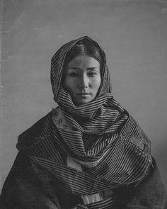 Portrait Studies: Eri   Japanese Woman in Okosozukin