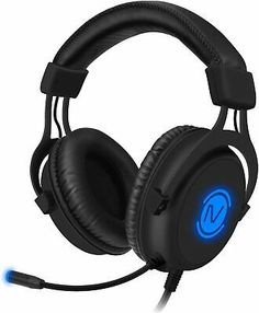 Computer Headset Noise Cancelling Headphones with Microphone for Laptop Gamer... Computer Headphones, Best Noise Cancelling Headphones, Headphones With Microphone, Headphone With Mic, Bluetooth Headphones, Over Ear Headphones, Wireless Headset, Gaming Headset