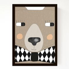 Big Bear A3 Print. £23.00, via Etsy.