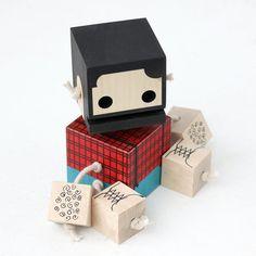 Grafik Designer Camo Block Bot - Limited Edition-Bildschirm ...