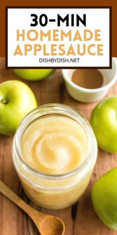 Healthy Apple Sauce Recipes, Healthy Recipes With Apples, Easy Apple Sauce, Breakfast Crockpot Recipes, Apple Recipes Easy, Fall Recipes, Whole Food Recipes, Applesauce Recipes Easy, How To Make Applesauce