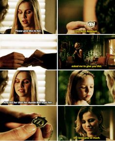 "#TheOriginals 4x13 ""The Feast of All Sinners"" - Rebekah, Freya and Hope"