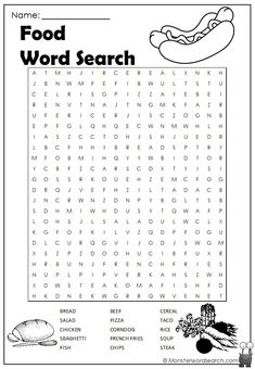 Food and Drink Archives - Monster Word Search Food and Drink Archives - Monster Word Search Word Puzzles For Kids, Free Word Search Puzzles, Kids Word Search, Word Games For Kids, Easter Puzzles, Printable Crossword Puzzles, Free Printable Word Searches, English Worksheets For Kids, English Activities
