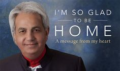 """(Status Update for Pastor Benny Hinn) - """"I'm So Glad To Be Home! 2 Chronicles 7 14, Benny Hinn, Prayer Quotes, Family Quotes, Prayers, Faith, Messages, God, Beautiful"""