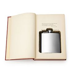 Look what I found at UncommonGoods: Flask Book Box for $56 #uncommongoods