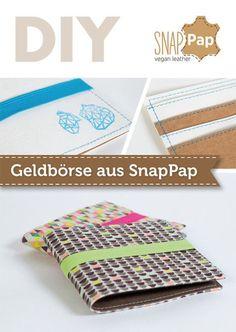 SnapPap Geldbörse Nähvideo & Freebie