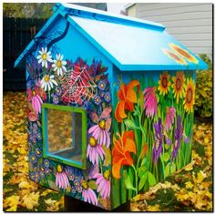 images of little free libraries | ... массы получило название The Little Free Library