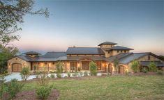 Prairie Style Home Plan with Four Bedrooms and Three Garage Bays - ePlans.com HWEPL69110