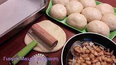 Μηλοπιτάκια με το μαγικό ζυμαράκι της Αργυρώς - Γιαγιά Μαίρη Εν Δράσει Dairy, Cheese, Cooking, Food, Kitchen, Projects, Log Projects, Blue Prints, Essen