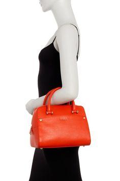 Margot Leather Satchel by Furla on @nordstrom_rack