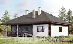 One Story House Plans, classic Design House, House Expert Custom Home Plans, Custom Homes, One Story Homes, Cottage Plan, Story House, Design Case, Plan Design, Gazebo, House Plans