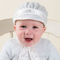 Baby Boy Knit Hat - Jonathan Collection - Designer Baby Clothing