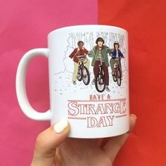 These are the best 'Stranger Things' products you can get today. Be sure to prepare for season three when it hits Netflix on July Stranger Things Gifts, Stranger Things Netflix, Sitting Arrangement, Fun Cup, 11th Birthday, Cute Mugs, Shape Design, My Favorite Things, How To Get