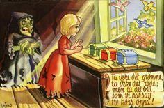 Julekort Eventyrkort Otto Wiese-Moe - Wimo