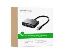 دیجیک   مبدل MINI DISPLAY PORT به HDMI VGA   تبدیل MINI DP به مانیتور ویدیو پرژکتور LCD LED