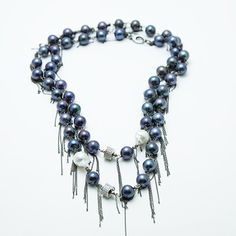 awesome!   Pearl Fringe necklace by NinaNovaDesign on Etsy, $375.00