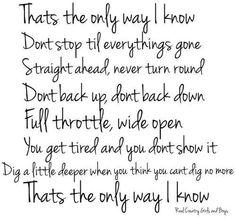 Jason Aldean, Luke Bryan, & Eric Church ~ That's The Only Way I Know <3
