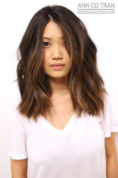 A RAMIREZ|TRAN BEAUTY. Cut/Style: Anh Co Tran • IG: @anhcotran • Appointment inquiries please call Ramirez|Tran Salon in Beverly Hills at 310.724.8167.