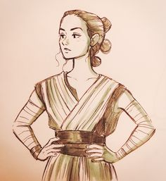 Your daily dose of Star Wars nonsense (or, as you might prefer to consider it, meta and analysis). Rey Star Wars, Star Wars Art, Face Art, Sketches, Princess Zelda, Animation, Stars, Drawings, Illustration