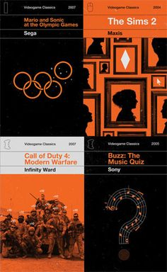 Video Game Classics by Olly Moss Olly Moss, Clever Advertising, Print Design, Graphic Design, Website Design Inspiration, Modern Warfare, Cool Posters, Nerdy Things, Nice Things