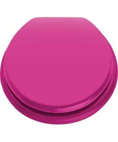 colour match moulded wood funky fuchsia toilet seat