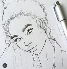 trill art pinterest officiallyerra beautiful art pinterest pretty drawings beautiful drawings pretty girl drawing queen art cartoon people cartoon drawings