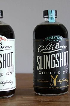 nonconcept: Slingshot cold brew coffee.