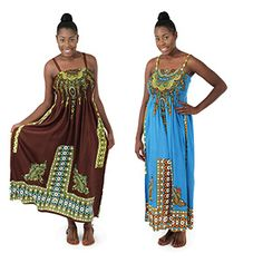 Royal Print Tube Dress $13.95 Royal print designs adorn the dress from top to bottom further proving that just because it's royal doesn't mean it's not exciting. C-WS785 Visit us at: africaimports.com