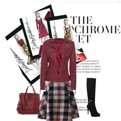 A fashion look from February 2015 featuring New Look blouses, True Religion jackets and Nine West boots. Browse and shop related looks.