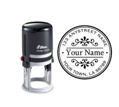 Self Inking custom return name address rubber by mycustomstamps, $25.00