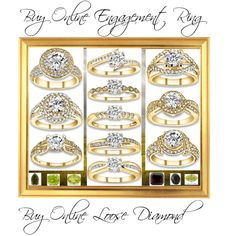 Buy Online Diamond Engagement Ring & Loose Diamond