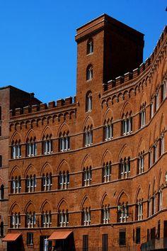 via Piazza del Campo ,Siena, Tuscany |  Italy