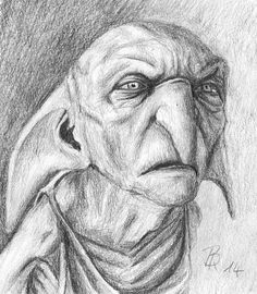 Ideas For Harry Potter Art Drawings Hogwarts Book Fanart Harry Potter, Harry James Potter, Kreacher Harry Potter, Harry Potter Sketch, Harry Potter Artwork, Harry Potter Drawings, Harry Potter Pictures, Harry Potter Fandom, Harry Potter World