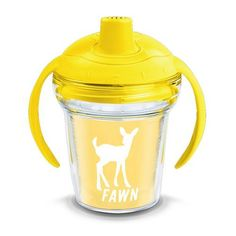 Tervis Fawn Silhouette 6 oz. Sippy Cup