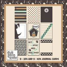 Must Love Dogs - Free Journal Cards