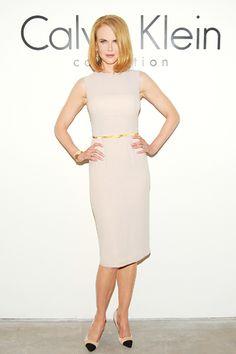 Nicole Kidman #NewYorkFashionWeek #NYFW #Desfiles #FrontRow #NicoleKidman #CalvinKlein