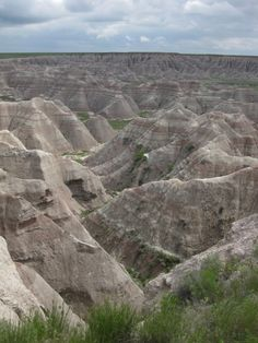 Badlands of Hell's Half-Acre, Natrona County, Wyoming