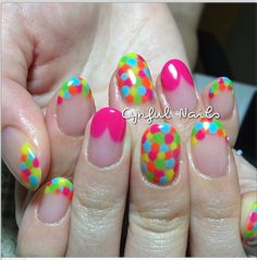 colorful dots!