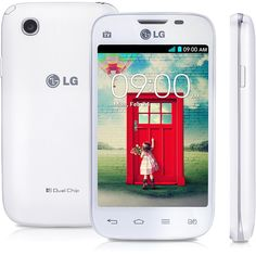 Smartphone LG L40 Desbloqueado Branco, Dual Chip, TV Digital, Android 4.4 Kit Kat, Dual Core, 1.2GHz, Câmera 3.0MP -