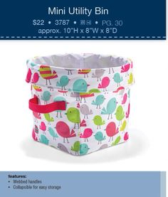This is a new print from Thirty-One Gifts. This will make a perfect Easter Basket. Www.mythirtyone.com/NicoleThigpen