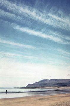 land, sea & sky, Iceland Iceland, Waves, Sky, Outdoor, Ice Land, Heaven, Outdoors, Heavens, Ocean Waves