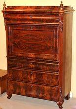 19th c. Secretaire a Abattant or Secretary Desk